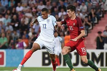 Portugal Inglaterra final euro sub-19