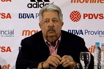 Rafael Esquivel, antigo presidente da Federação Venezuelana de Futebol