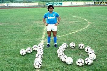 Maradona em Nápoles