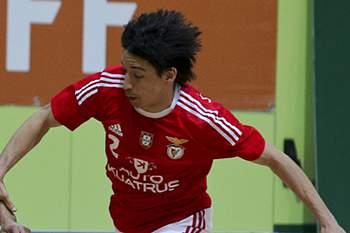 Chaguinha fez o golo do Benfica