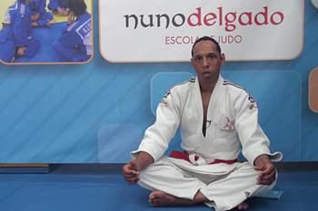 Nuno Delgado, antigo judoca português