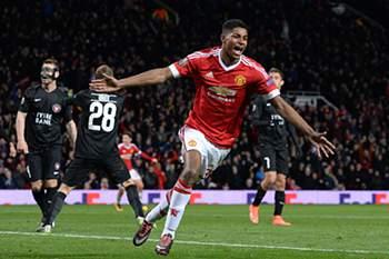 Marcus Rashford, jovem coqueluche do Manchester United