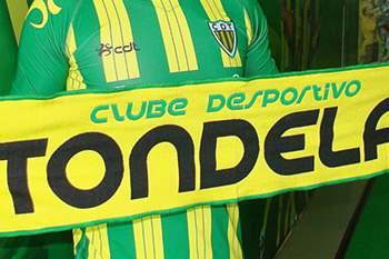 Jogador emprestado ao Tondela.