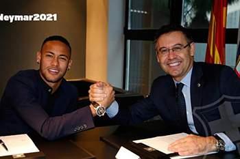 Neymar renova pelo FC Barcelona até 2022