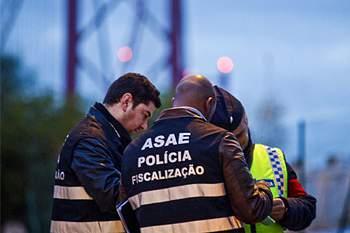 ASAE com polícia, operação em Lisboa