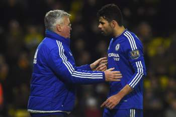 Guus Hiddink e Diego Costa