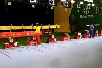 João Costa em ação nos Jogos Europeus de Baku 2015