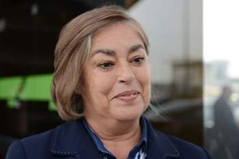 SOCIEDADE - Entrevista a Fernanda Marques, ministara da Educacao e Desporto de Cabo Verde. Aeroporto da Portela, em Lisboa. Quinta feira 30 de janeiro de 2013. (ALEXANDRE PONA/ASF)
