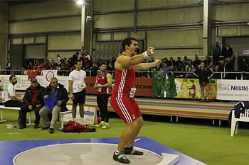Francisco Belo, atleta do lançamento do peso do Benfica