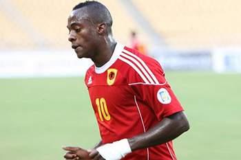 O internacional angolano Geraldo reforça 1º de Agosto