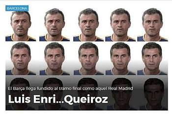 O mau momento do Barcelona é comparado ao Real Madrid de 2004 orientado pelo técnico luso