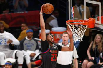Anthony Davis, mvp do jogo All Star