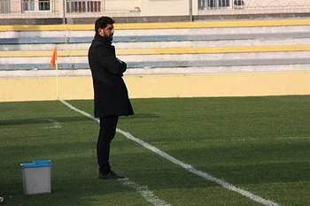 Luís Loureiro durante um jogo do Sintrense.