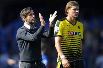 Quique Flores assumiu o comando técnico do Watford esta época.
