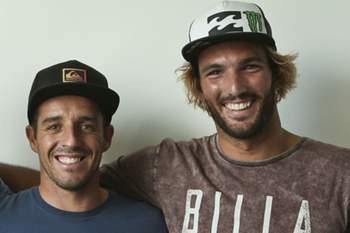 Tiago Pires e Frederico Morais