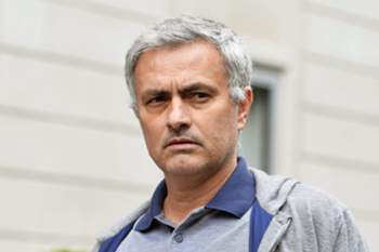 epa05331515 (FILE) A file photo dated 22 May 2016 showing Portuguese manager Jose Mourinho leaving his house in central London, Britain. British media reports on 27 May 2016 state Jose Mourinho has taken over from Louis Van Gaal as manager of Manchester United as part of a three-year contract.