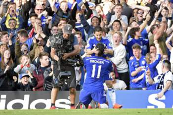 Drogba despediu-se do Chelsea.