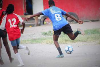 Moçambique: Futebol feminino