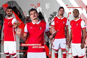 SC Braga revela o equipamento principal para a próxima temporada