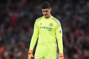 Thibaut Courtois, guarda-redes do Chelsea