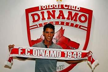 Diogo Salomão oficializado no Dínamo Bucareste