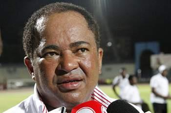 Zeca Amaral, treinador do Benfica de Luanda