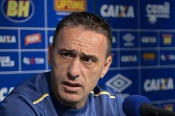 O Cruzeiro, treinado pelo portugu