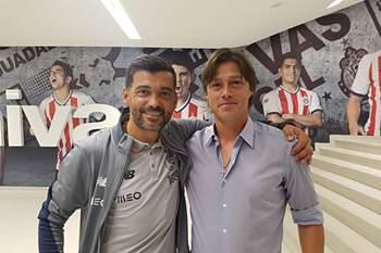Sérgio Conceição e Matias Almeyda