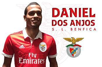 Daniel dos Anjos assina pelo Benfica