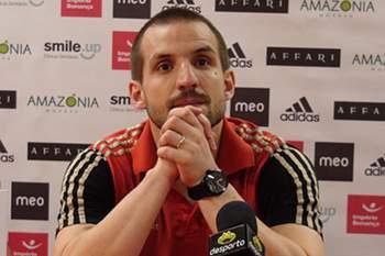 Marcão já defendeu as cores do Benfica
