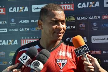 Walter, jogador emprestado pelo FC Porto ao Atlético-Goianiense