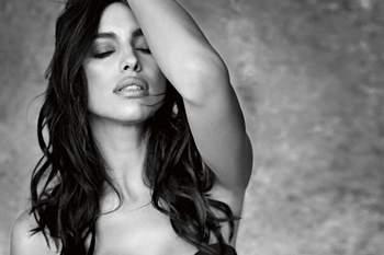 A modelo russo Irina Shayk