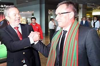 Paulo César Gusmão, novo treinador do Marítimo