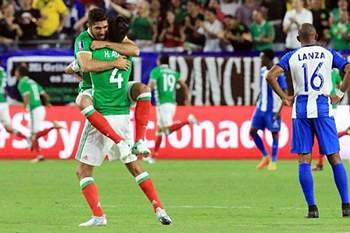 Gold Cup: México vence Honduras