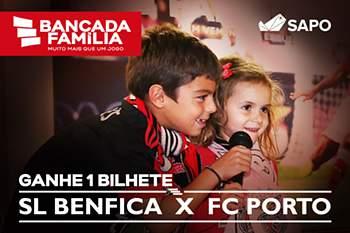 Ganhe bilhetes para o Benfica-FC Porto