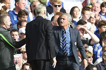 Wenger e Mourinho