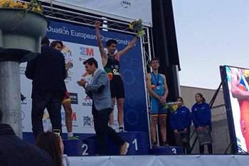 Filipe Azevedo sagra-se campeão europeu de duatlo na categoria de sub-23.