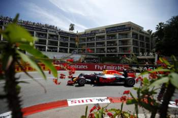 epa05333712 Australian Formula One driver Daniel Ricciardo of Red Bull Racing in action during the qualifying session of the Monaco Formula One Grand Prix at the Monte Carlo circuit in Monaco, 28 May 2016. The 2016 Formula One Grand Prix of Monaco will take place on 29 May 2016.