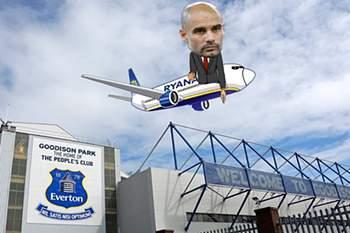 Ryanair oferece-se para levar Guardiola de volta a preço...low cost
