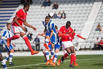 FC Porto-Benfica da fase de apuramento de campeão do nacional de juniores