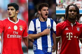 Três portugueses na corrida ao 'Golden Boy' do Tuttosport