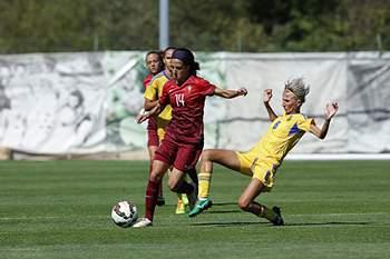 Portugal vs Ucrânia futebol feminino