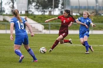 Futebol feminino: Portugal - Finlândia (sub-19)