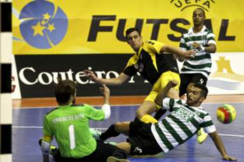 Guarda-redes do futsal do Sporting.