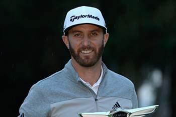 Dustin Johnson, golfista profissional