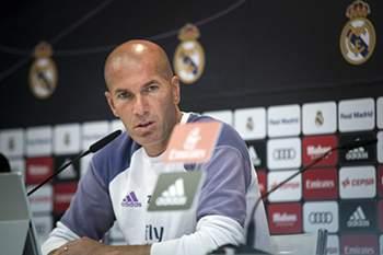 """Zidane: """"Queremos o 1"""