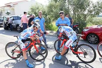 Ciclista espanhol Antonio Angulo vence na Bairrada e lidera Taça de Portugal.