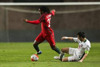 Portugal-Bulgária: Renato Sanches