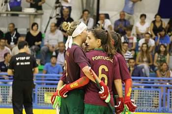 Seleção portuguesa feminina de hóquei em patins soma segunda vitória no Europeu.