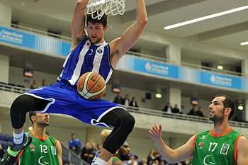 Jogo entre FC Porto e Maia Basket.
